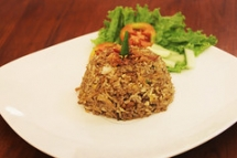 "Nasi Goreng Opor • <a style=""font-size:0.8em;"" href=""http://www.flickr.com/photos/110611083@N05/11637928343/"" target=""_blank"">View on Flickr</a>"